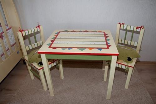 Декорированная детская мебель
