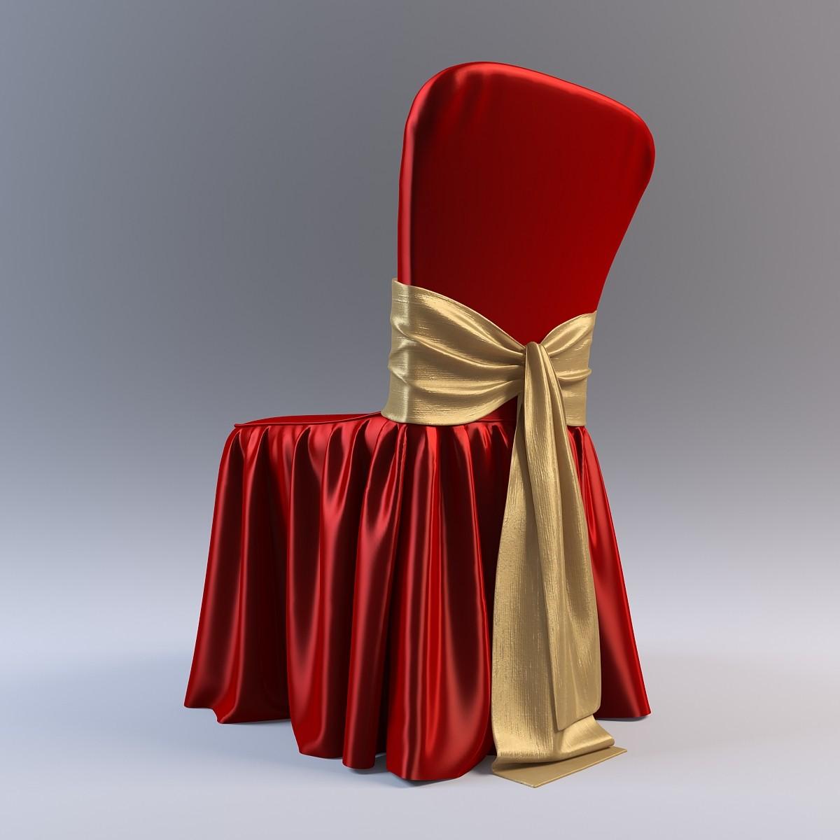 Красивое оформление стульев