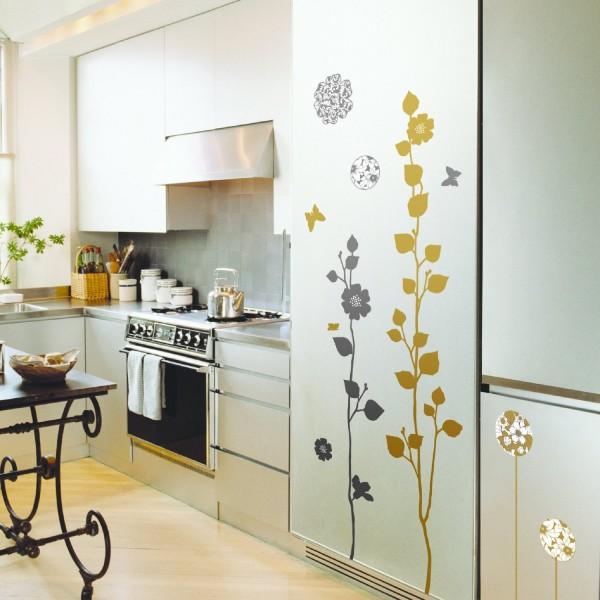 Красивые наклейки для кухонного гарнитура