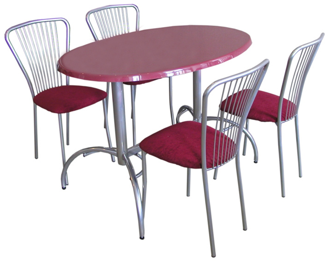 Красивая мебель для приема пищи