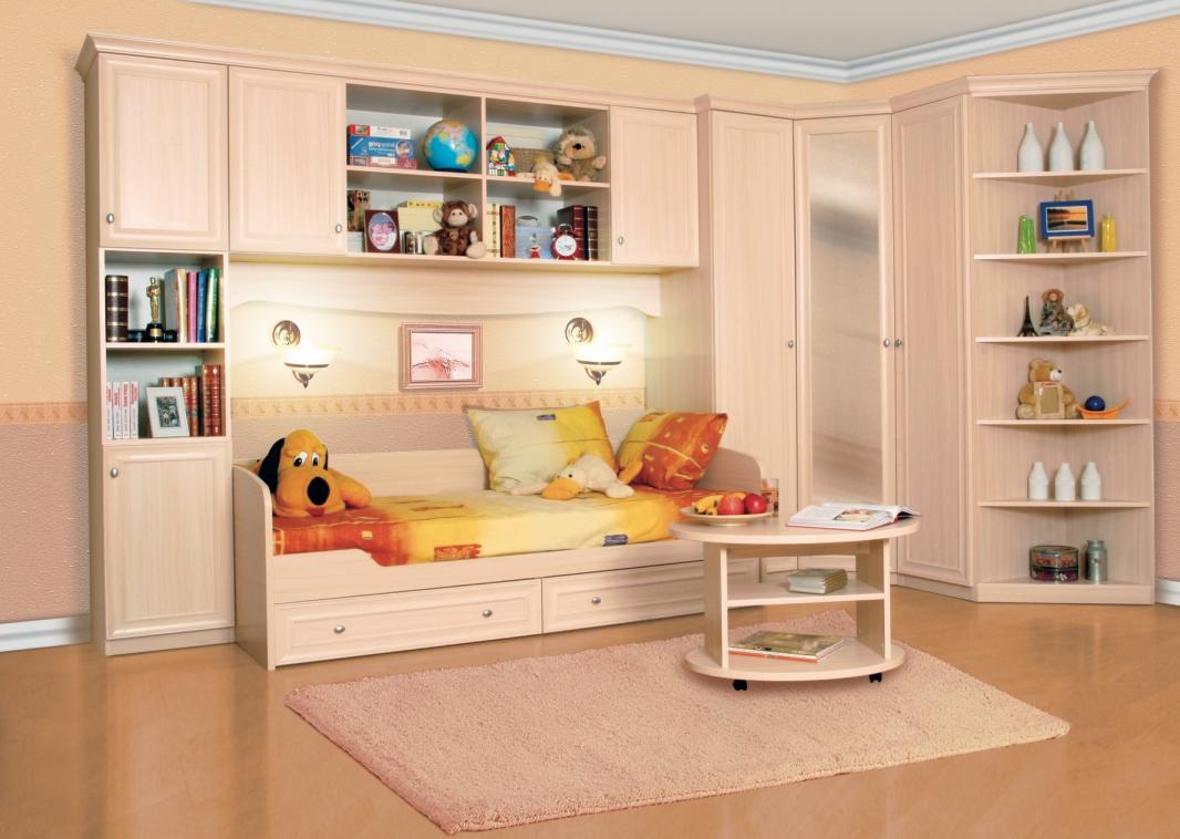 Красота интерьера комнаты