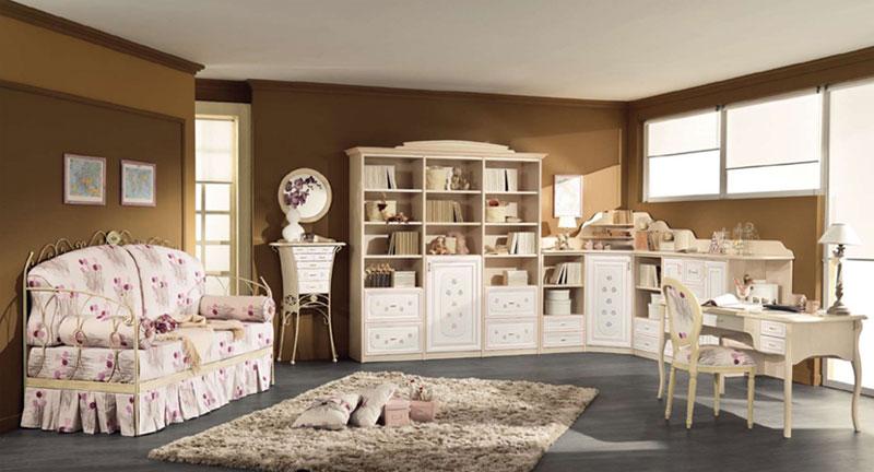 Красота итальянской детской мебели