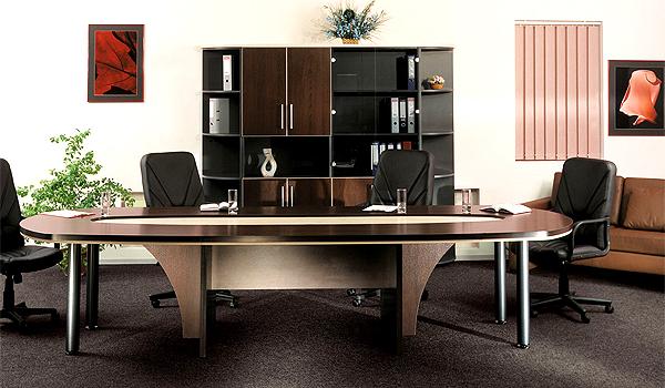 Круглая мебель для руководителя