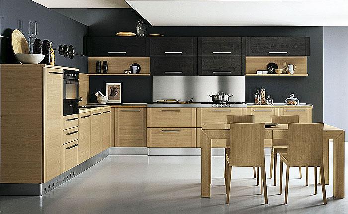 Кухня с привлекательным интерьером