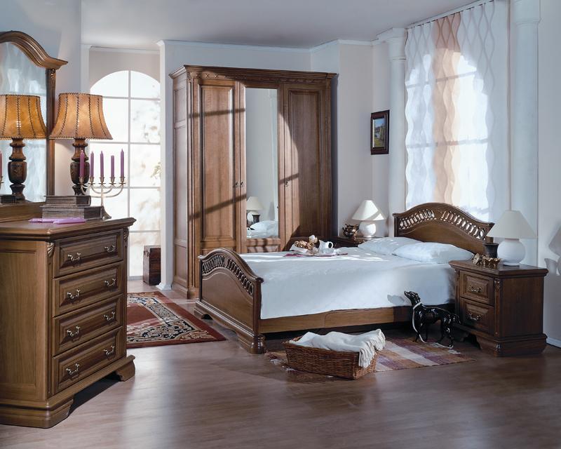 Массив дерева мебель для спальни