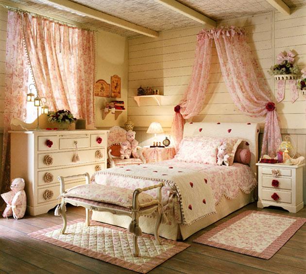 Мебель для детей в прованс дизайне