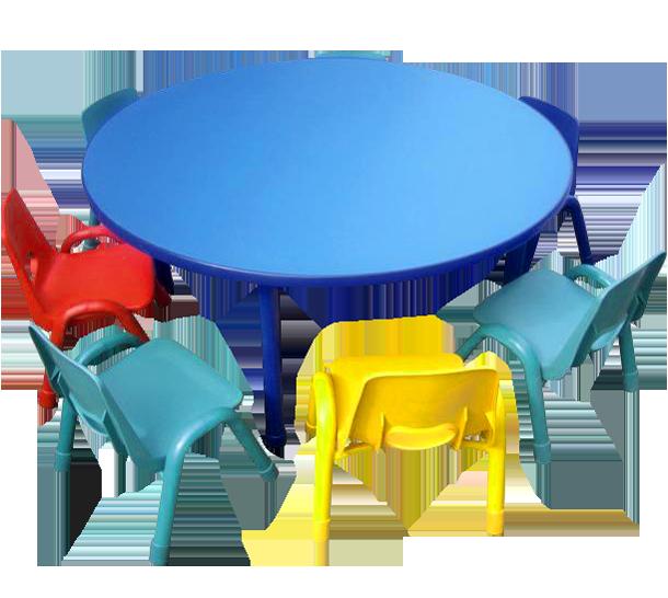 Мебель для детского сада из пластика