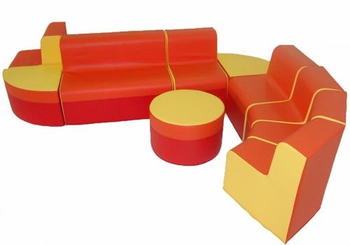 Мебель для детского сада из поролона