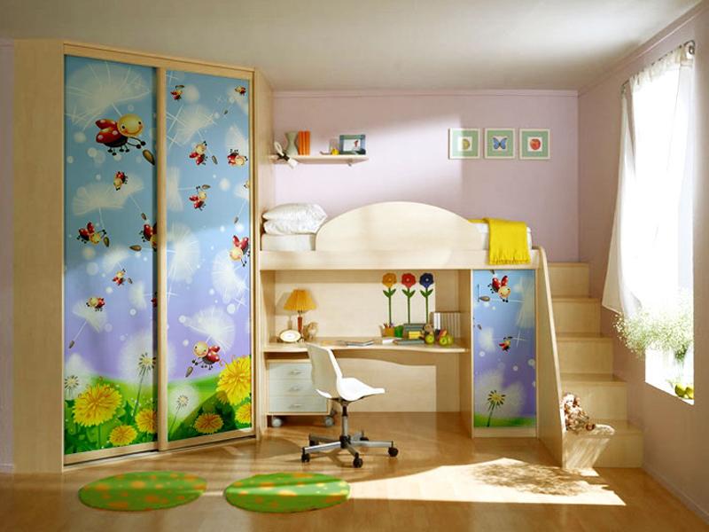 Мебель для детской спальни пластик