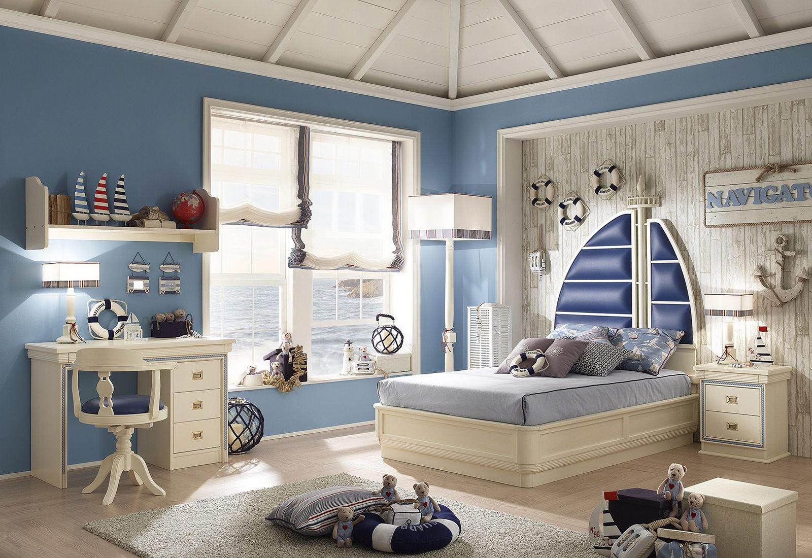 Мебель для мальчика морские темы