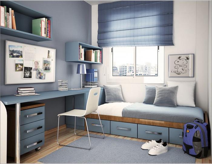 Мебель для оформления комнаты подростка