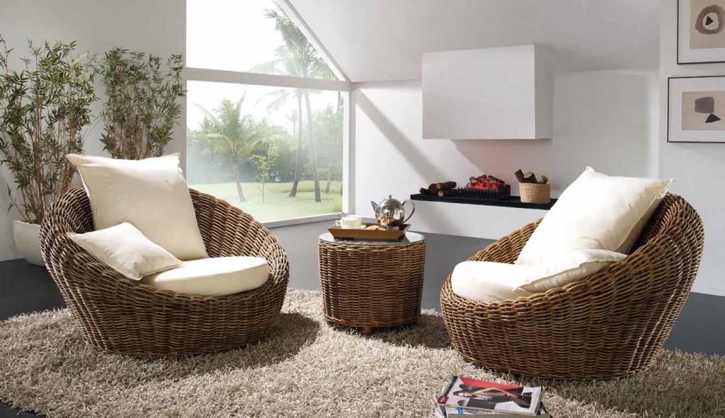 Мебель из ротанга эко стиля