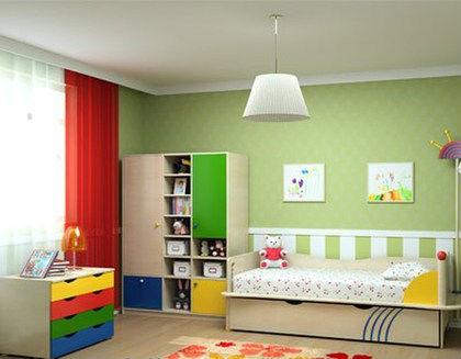 Мебель модульного типа для малышей