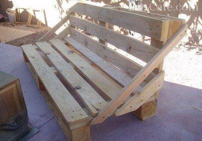 Мебель на основе поддонов для дома и дачи