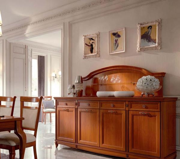 Мебель, оформленная цветом вишни