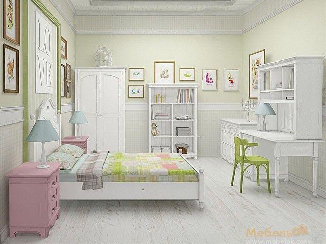 Мебель прованс для комнаты ребенка