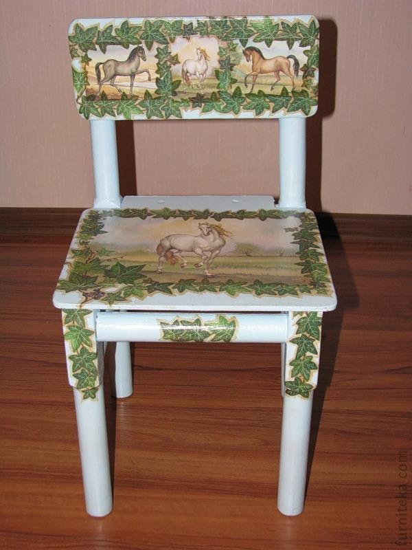Мебель с красивым оформлением