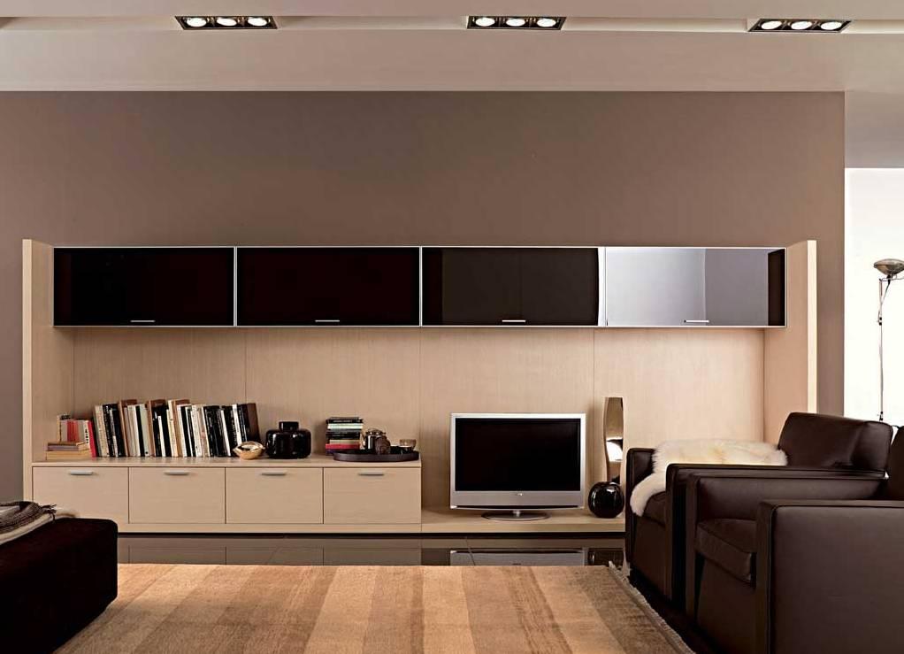 Мебель современного направления для обустройства гостиной