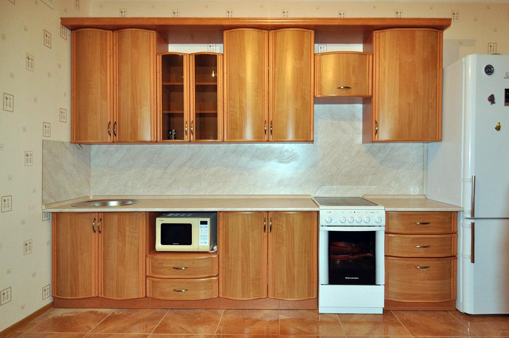 Мебель цвета ольха для кухни