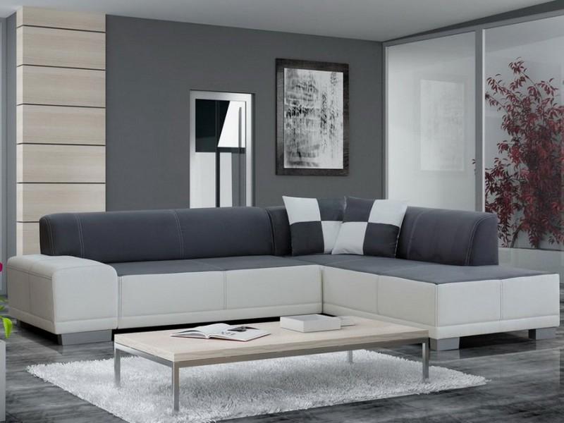 Мебель углового типа для небольшой гостиной