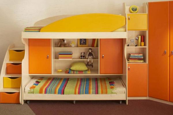 Мебель в детскую комнату для двоих детей девочек