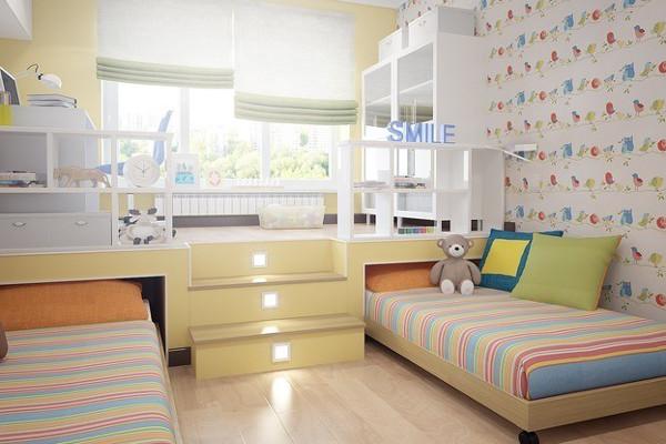 Мебель в детскую комнату для двоих детей