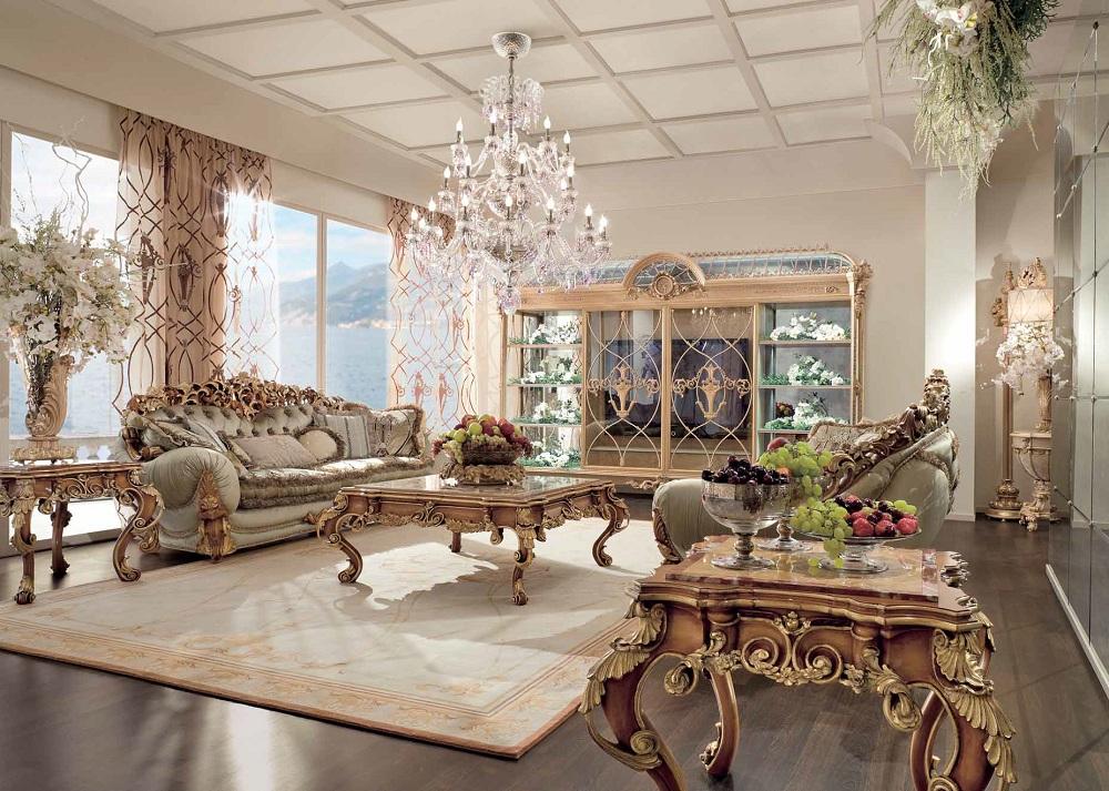 Мебель в гостиную ампир