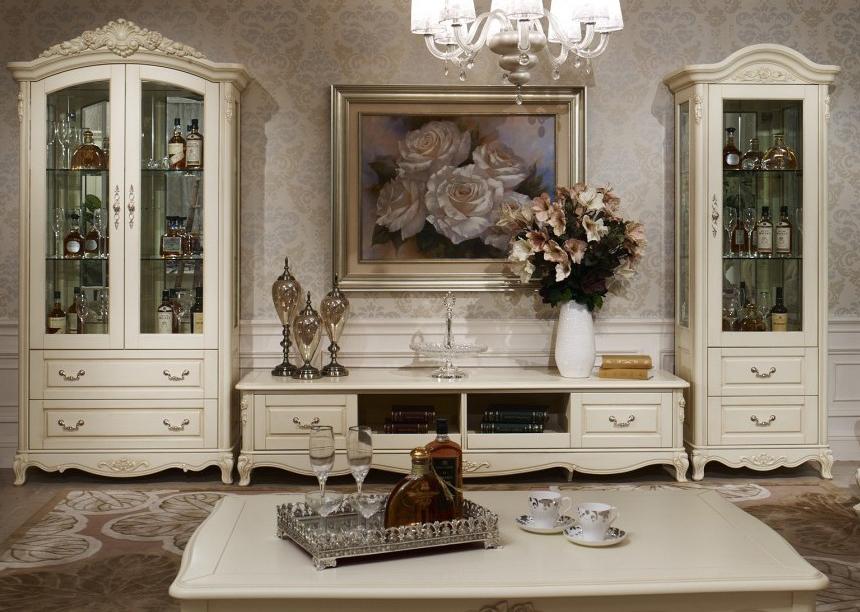 Мебель в гостиную классического стиля