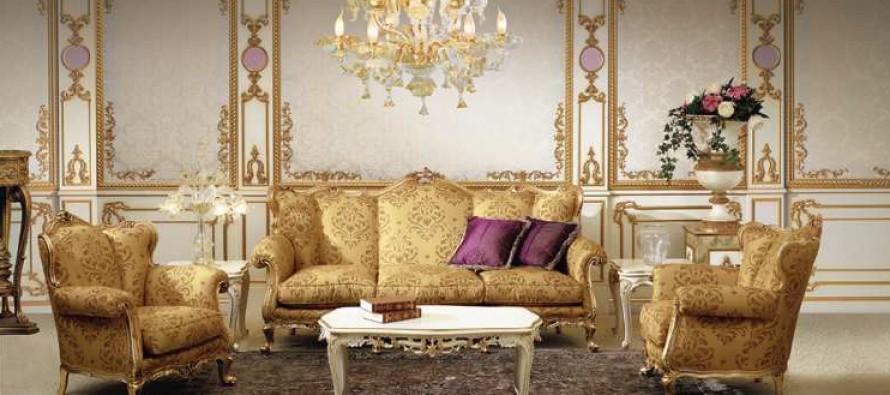 Мебель в гостиную рококо