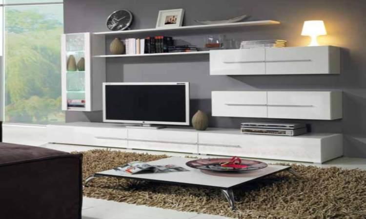 Мебель в современном стиле в гостиной выглядит красиво