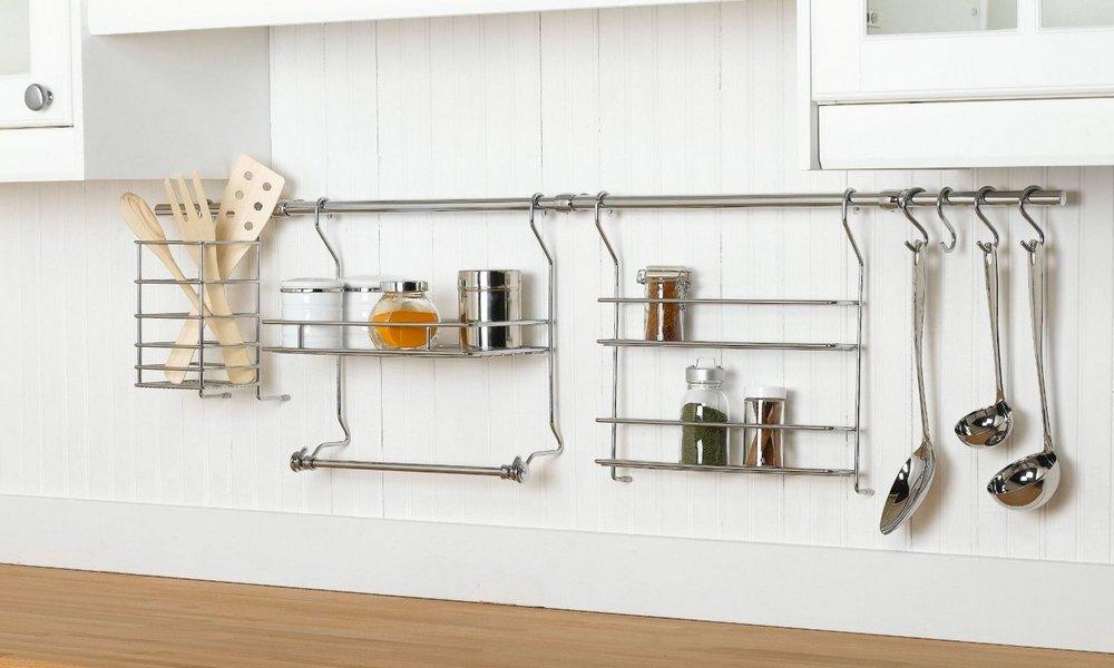 Металлические рейлинги для кухни