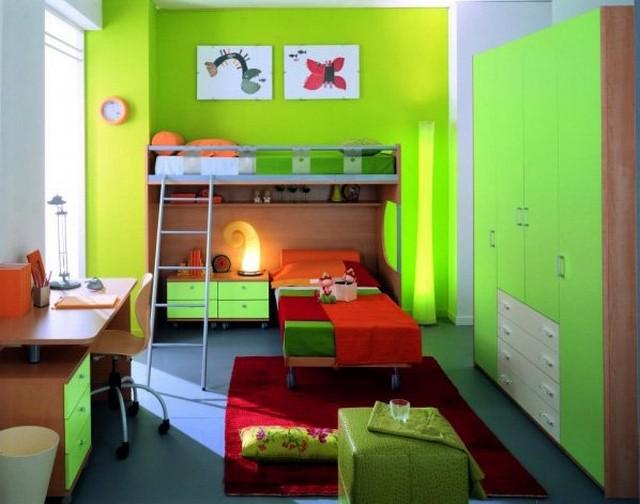 Модульная мебель для двух детей