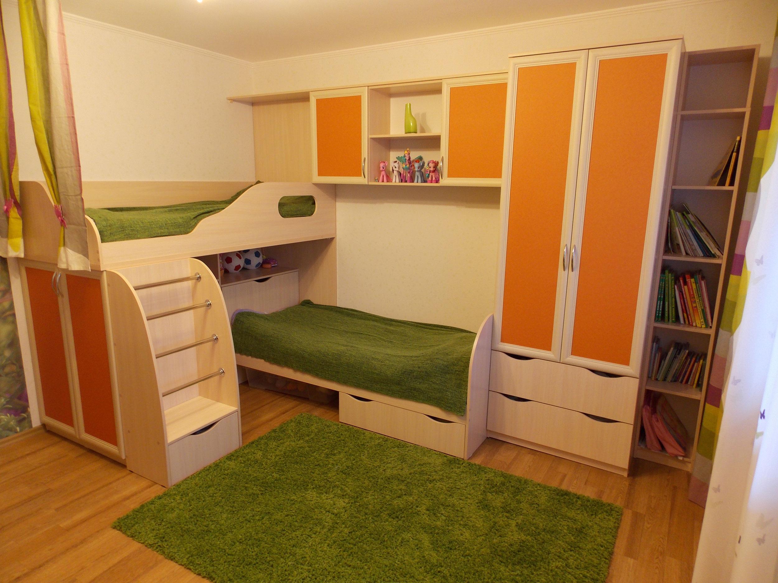 Модульный вариант обустройства комнаты