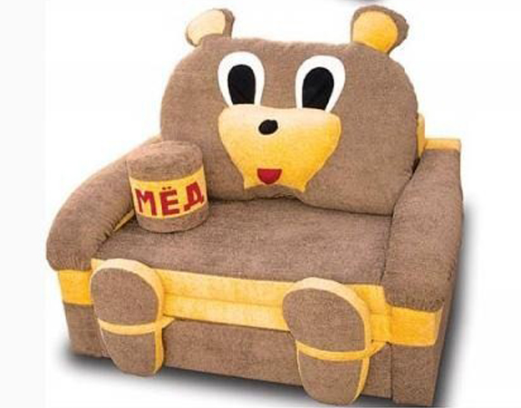 Мягкая детская мебель