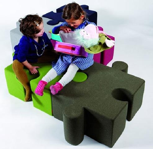 Мягкая удобная детская игровая мебель