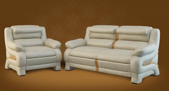 Мягкая удобная мебель для обустройства просторной гостиной