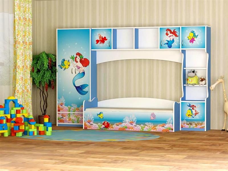Набор детской мебели с принтом