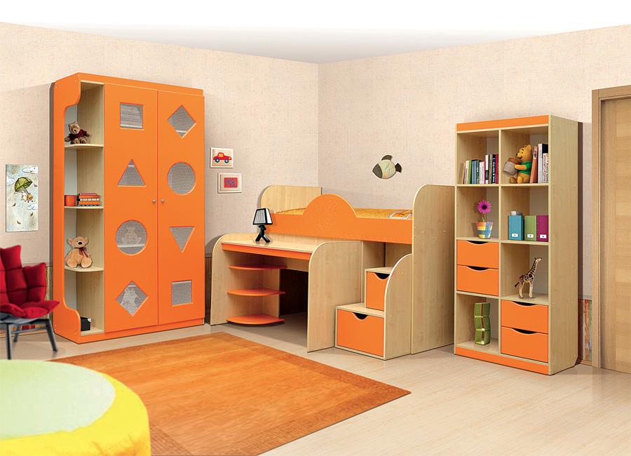 Набор практичной детской мебели