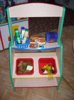 Небольшая игровая мебель для помещения в детский сад