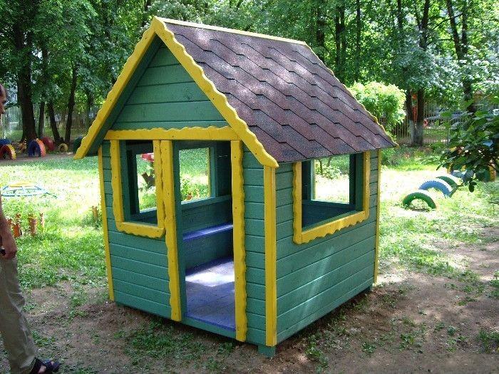 Небольшие домики для детского сада
