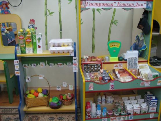 Небольшие игровые зоны в детском саду