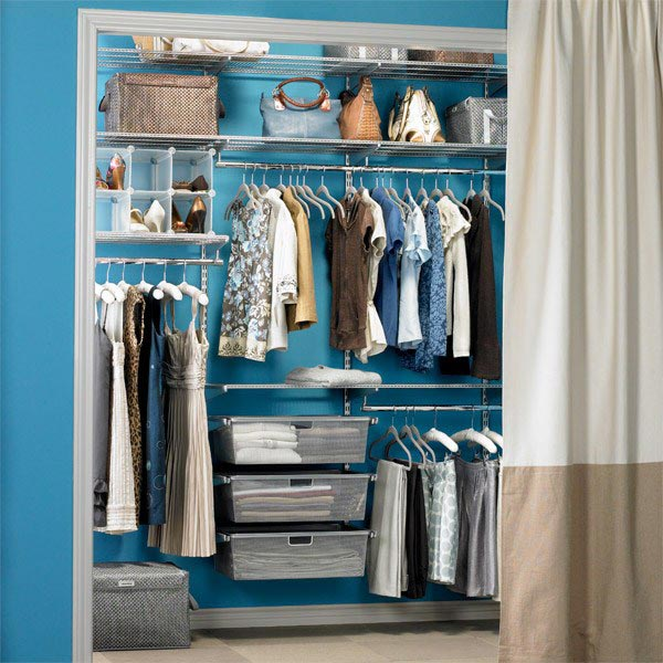 Небольшой практичный гардероб 4 кв.м