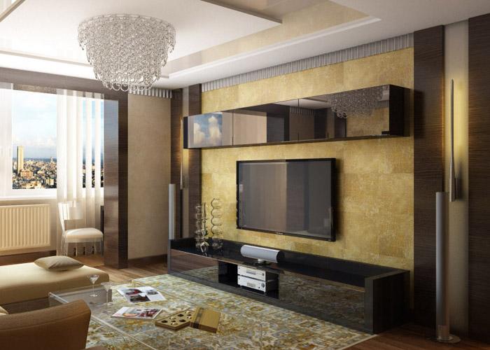 Недорогая мебель для гостинной в современном стиле