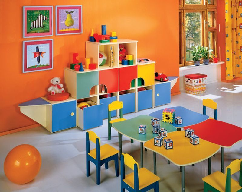 Несколько правила подбора мебели в детскую