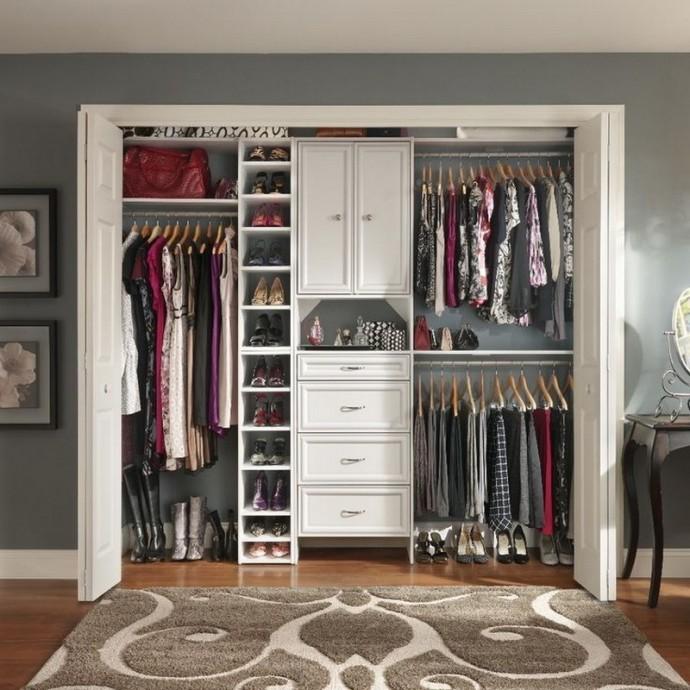 Обустройство гардеробной комнаты 4 кв.м