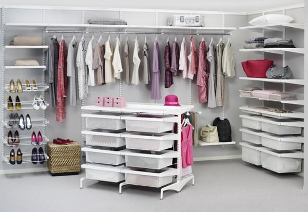 Обустройство гардеробной комнаты - оборудование и внутреннее наполнение