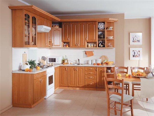 Окрашивание фасада кухни