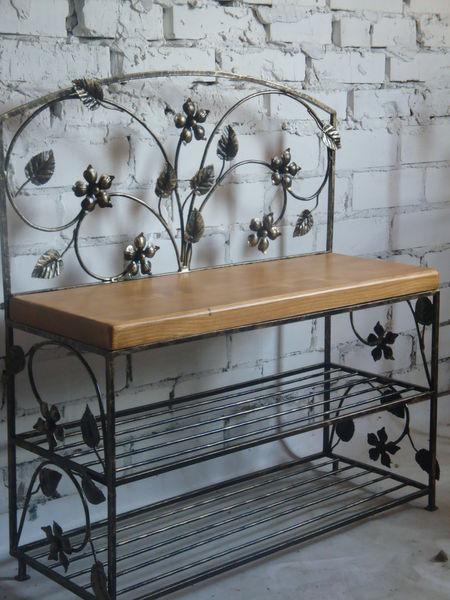 Оригинальная кованая мебель для прихожей