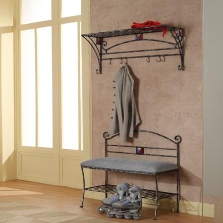 Оригинальная современная кованая мебель для прихожей