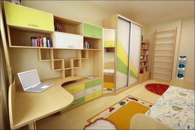 Особенности мебели в детскую комнату мальчика